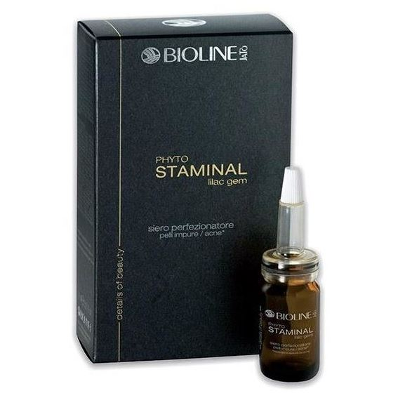 Сыворотка Bioline JaTo Phyto Staminal Lilac Gem Perfecting Serum Impure Acne Skin 8 мл набор набор bioline jato beauty gift ag3
