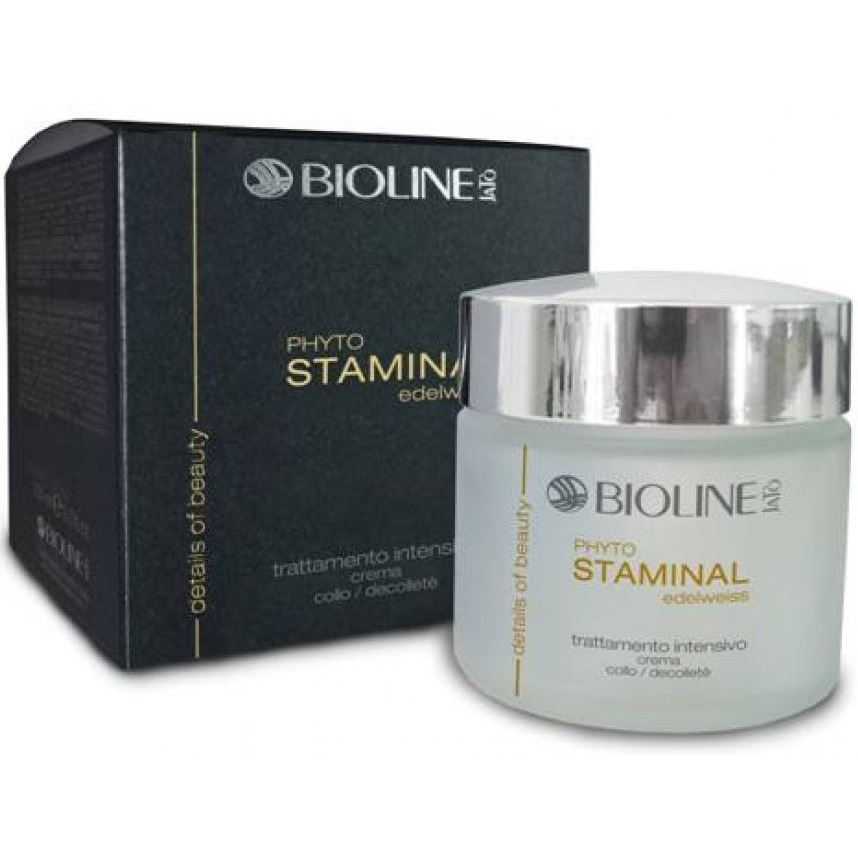 Крем Bioline JaTo Phytostaminal Edelweiss-Neck/Decol Cream. Phase-2 50 мл крем bioline jato acid cream ph balancing 50 мл