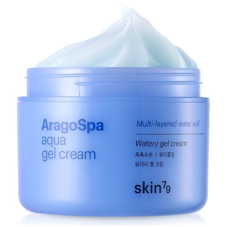 Крем Skin79 AragoSpa Aqua Gel Cream aqua cream средство для макияжа 18 розовато лиловый