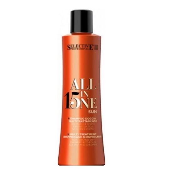 Шампунь Selective Professional All in One Sun Shampoo 250 мл шампунь selective professional every day frequent wash shampoo 250 мл