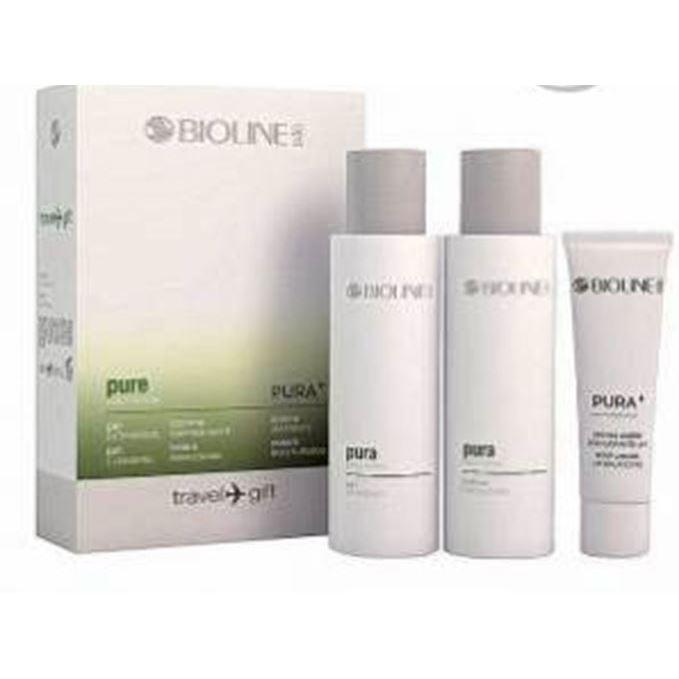 Набор Bioline JaTo Travel Gift Кit Pure (Набор: крем, 30 мл + гель, 99 мл + лосьон, 99 мл) набор набор bioline jato beauty gift ag3