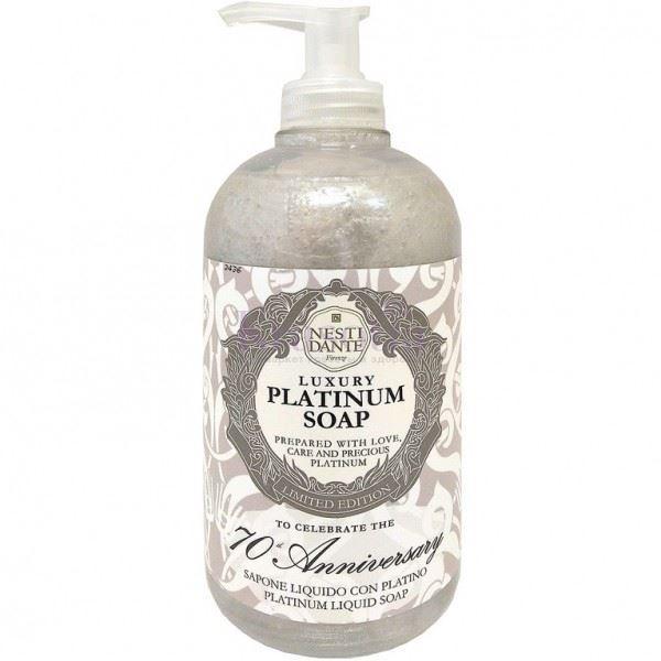 Мыло жидкое Nesti Dante Luxury Platinum Liquid Soup 70th Anniversary мыло жидкое mon platin мыло жидкое ароматическое