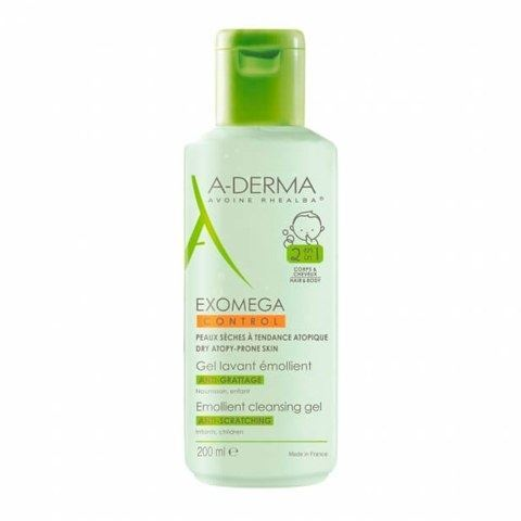 Гель A-Derma Emollient Cleansing Gel 500 мл крем a derma d e f i emollient cream
