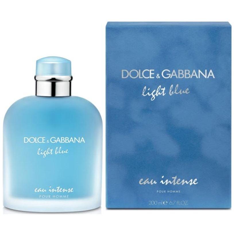 Набор Dolce & Gabbana Light Blue Eau Intense Pour Homme (Набор: п/вода, 100 мл + бальзам п/бритья, 75 мл + гель д/душа, 50 мл) la roche posay hydraphase intense маска 50 мл