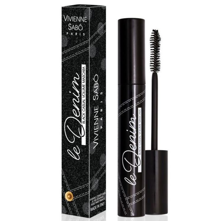 Тушь для ресниц Vivienne Sabo Casual Volume Mascara Black (01 Black) тушь для ресниц beyu volume now mascara