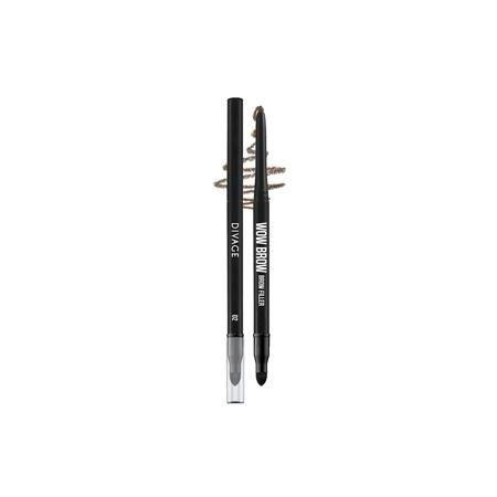 Карандаши Divage Wow Brow (02) косметические карандаши parisa карандаш для бровей тон 306