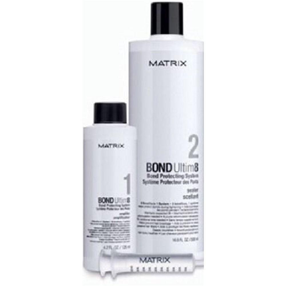 Набор Matrix Bond Ultim8 Travel Kit (Набор: Шаг 1, 125 мл + Шаг 2, 500 мл + шприц) крем schwarzkopf professional fibreplex 2 bond sealer 500 мл