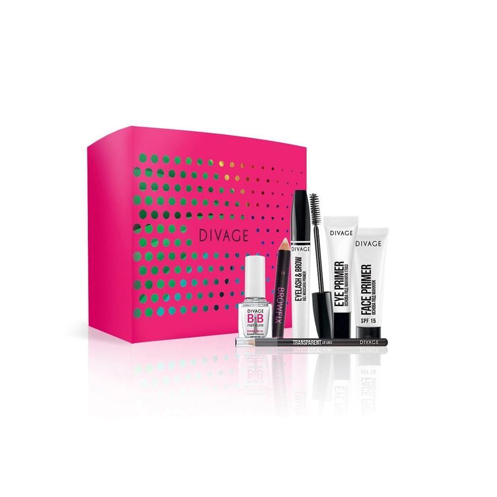 Набор: База под макияж Divage Набор Устойчивый макияж (Набор) основа под макияж spf15 40