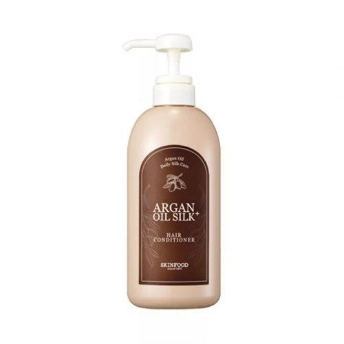 Кондиционер SkinFood Argan Oil Silk Plus Hair Conditioner 500 мл white cospharm white organia good natural aloe vera hair conditioner кондиционер для волос с алоэ вера 500 гр