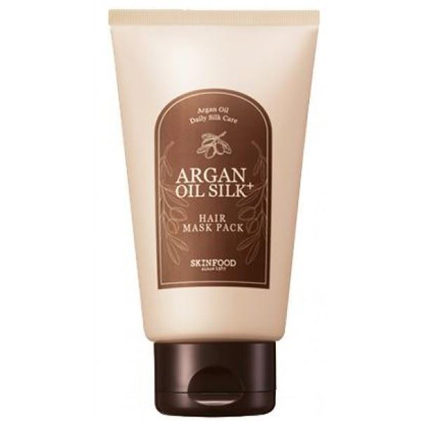 Маска SkinFood Argan Oil Silk Plus Hair Maskpack (200 г) hask argan oil дуо набор для восстановления волос argan oil дуо набор для восстановления волос