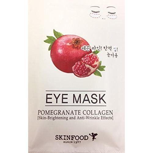Маска SkinFood Pomegranate Collagen Eye Mask (3 г) маска skinfood bitter green clay soothing mask 145 г