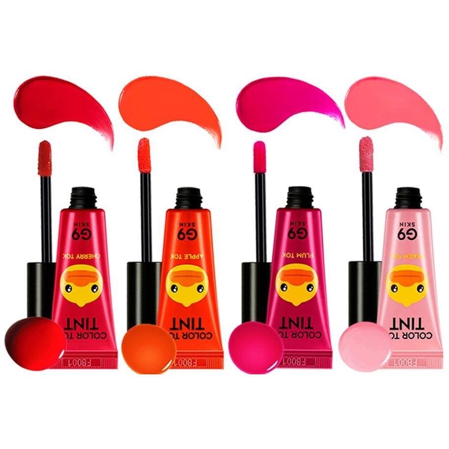 Блеск для губ Berrisom G9 SKIN Color Tok Tint  (04) berrisom гель для губ с тату эффектом oops angel lip tattoo 04 цвет 04 shy azalea