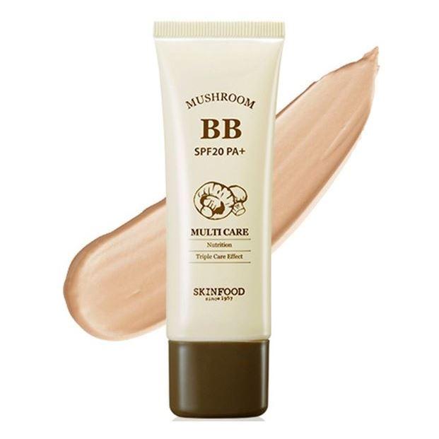 Тональный крем SkinFood Mushroom Multi Care BB Cream SPF20 PA+ (2) тональный крем tony moly triple water proof perfection bb cream spf50 pa 50 г