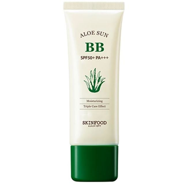 Тональный крем SkinFood Aloe Sun BB Cream SPF20 (2) bb spf20