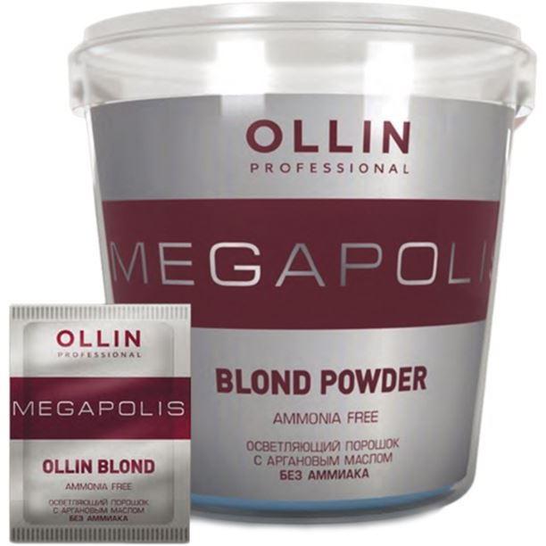 Краска для волос Ollin Professional Megapolis Blond Powder Ammonia Free (500 г) краска для волос kapous professional bleaching powder with keratin non ammonia 500 г