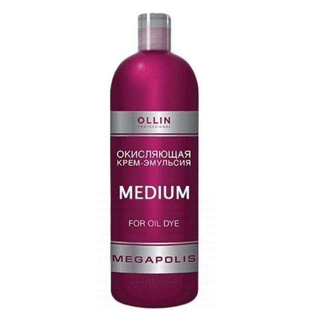 Оксидант Ollin Professional Megapolis Medium For Oil Dye 75 мл ollin professional эмульсия окисляющая 9