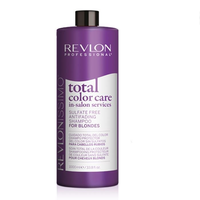 Шампунь Revlon Professional Sulfate Free Antifading Shampoo For Blondes  1000 мл шампуни revlon professional шампунь кондиционер uniq one conditioning shampoo 300 мл