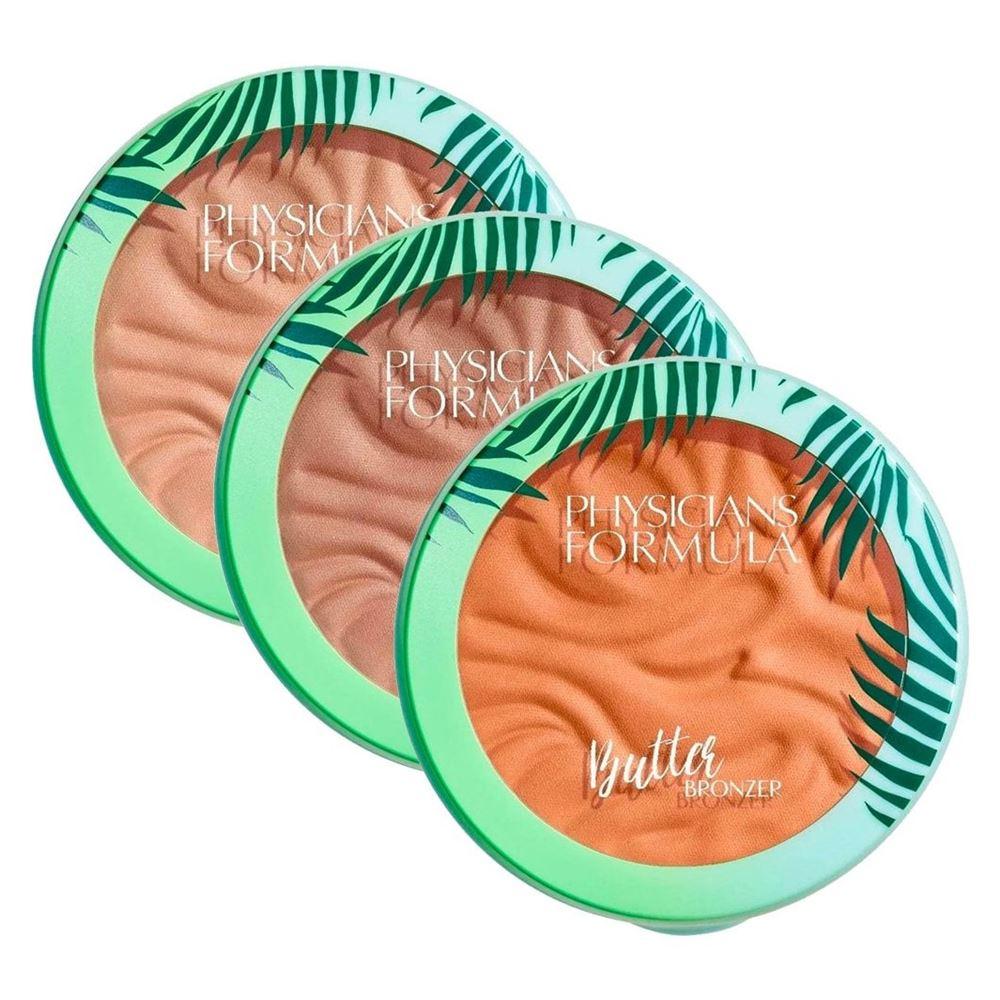 База под макияж Physicians Formula Butter Bronzer Murumuru (светлый загар) румяна physicians formula happy booster blush цвет натуральный variant hex name e19293