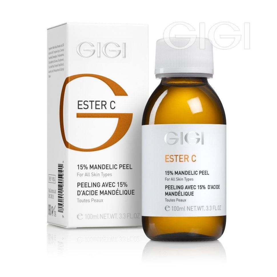 Пилинг GiGi Mandelic Peel 15% пилинг gigi krotonic peel 15 peeling 15% step 3 10 5 мл
