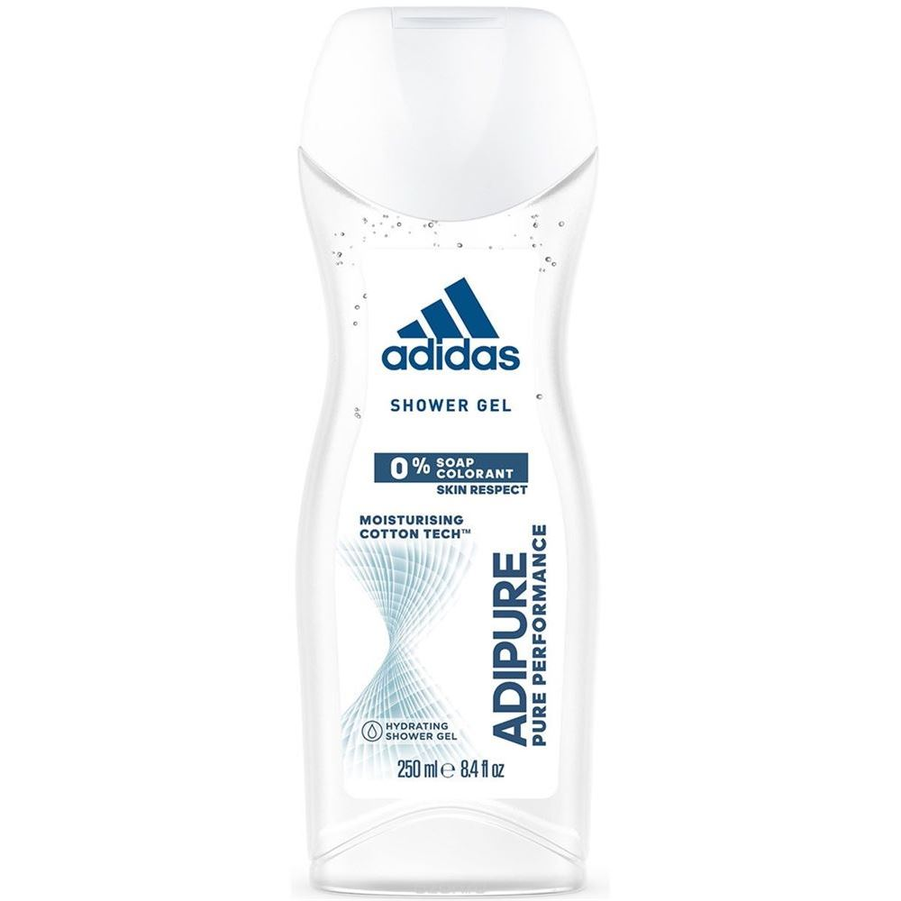 Набор: Гель для душа Adidas Shower Gel Adipure Pure Performance