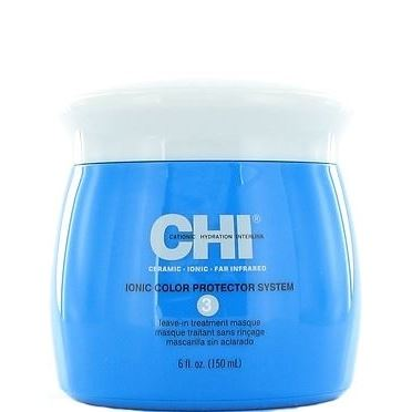 Маска CHI Ionic Color Protector System 3 Leave in Treatment Masque cremorlab hydro plus крем глубокого увлажнения с экстрактом эдельвейса snow falls melting cream 60 мл