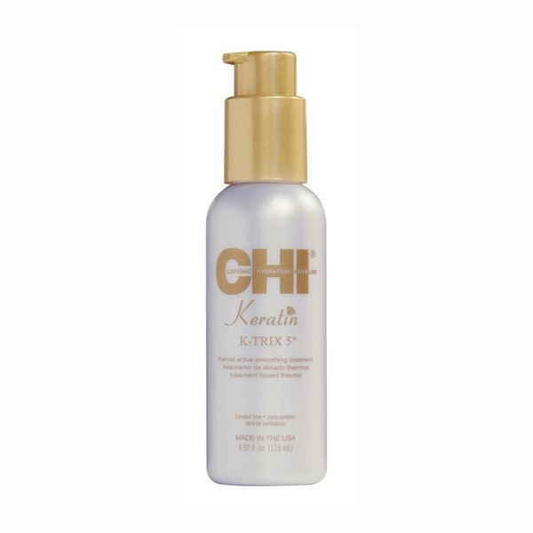 Эмульсия CHI Keratin K-TRIX 5 Thermal Active Smoothing Treatment гель chi pearl complex treatment