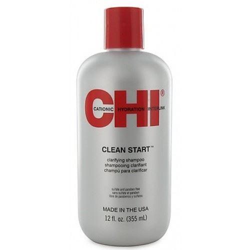 Шампунь CHI Clean Start Clarifying Shampoo 355 мл chi шампунь выпрямляющий chi королевский 355 мл