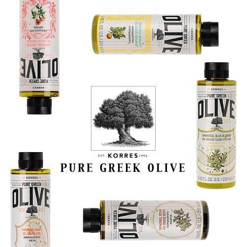 Гель для душа Korres Pure Greek Olive Showergel  (Verbena) недорого