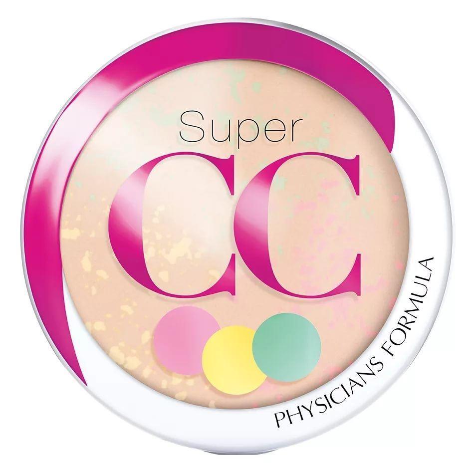 Пудра Physicians Formula Super CC Color-Correction + Care СС Powder SPF 30 (светлый/средний)