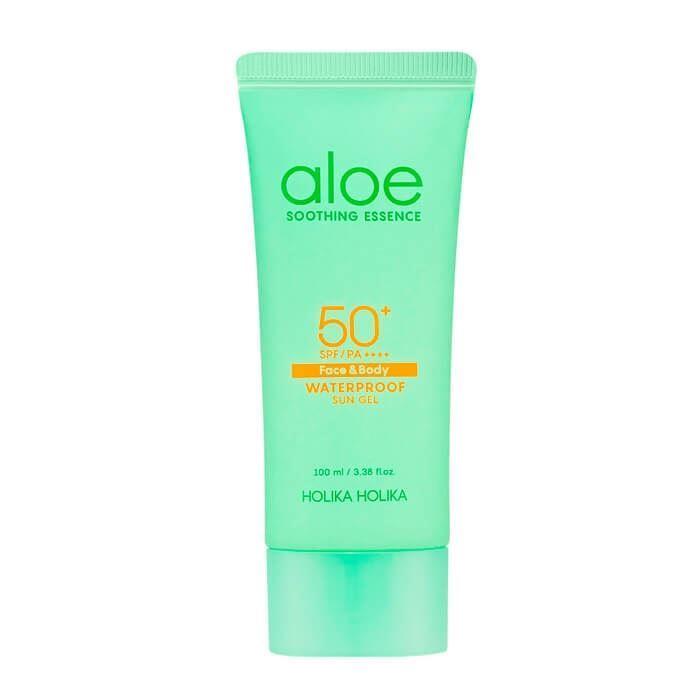 Гель Holika Holika Aloe Waterproof Sun Gel SPF50+PA++ недорого