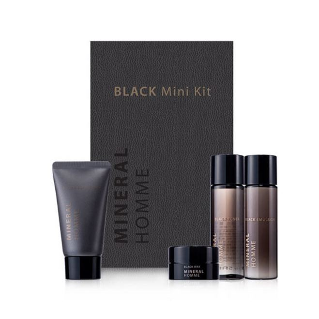 Набор: Воск The Saem Mineral Homme Black Mini Kit тоник the saem mineral homme black toner