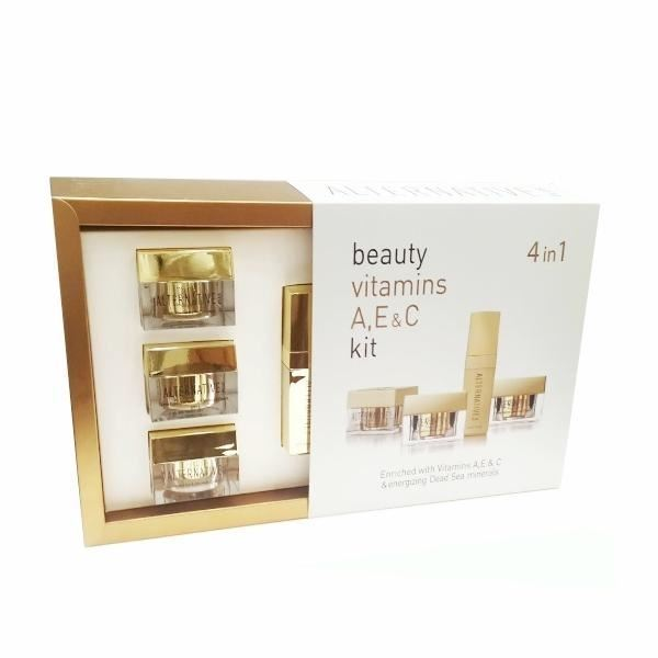 Набор: Крем Sea of SPA Beauty Vitamins A, E & C Kit sea of spa крем для ног против трещин с маслом авокадо и алое вера 100 мл