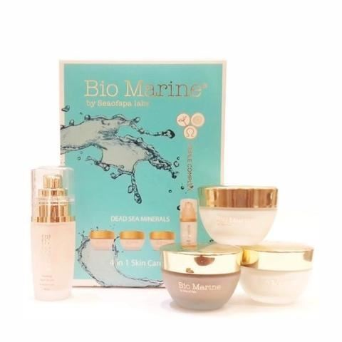 Набор: Крем Sea of SPA Bio Marine Dead Sea Minerals 4 in 1 Skin Care Kit sea of spa крем для ног против трещин с маслом авокадо и алое вера 100 мл