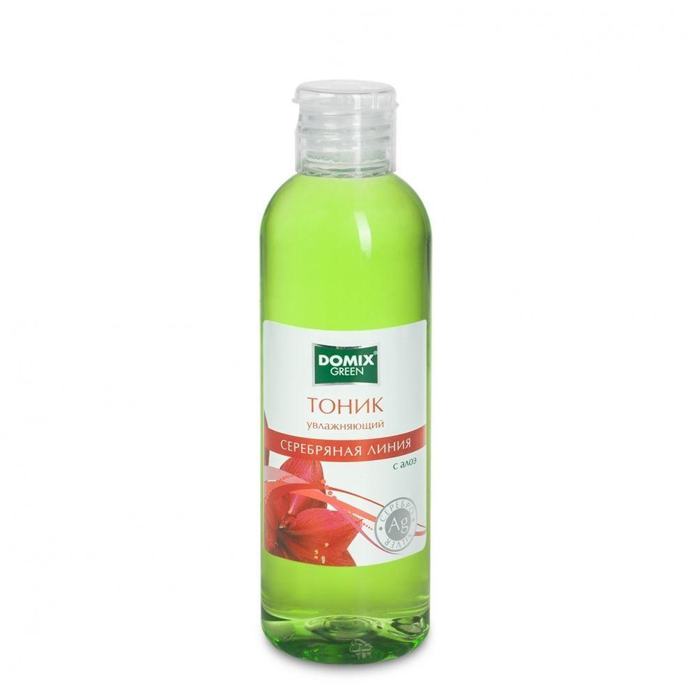 Тоник Domix Green Professional Тоник увлажняющий с алоэ и наносеребром 200 мл жидкость domix green professional totaldis disinfectant 200 мл