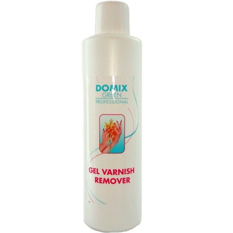 Жидкость Domix Green Professional Gel Varnish Remover 500 мл жидкость domix green professional cuticle remover almond oil 75 мл