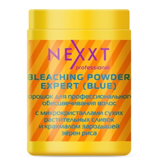 Краска для волос Nexxt Professional Bleaching Powder Expert (Blue) (Пакет, 500 г) пудра hair company blonde bleaching powder 1000 г