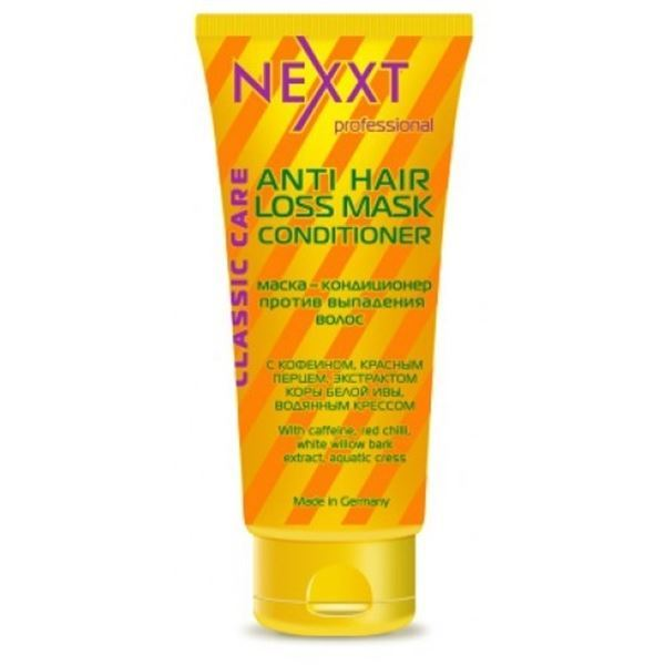 Кондиционер Nexxt Professional Anti Hair Loss Mask Conditioner 200 мл флюид nexxt professional hair skin color remover 125 мл