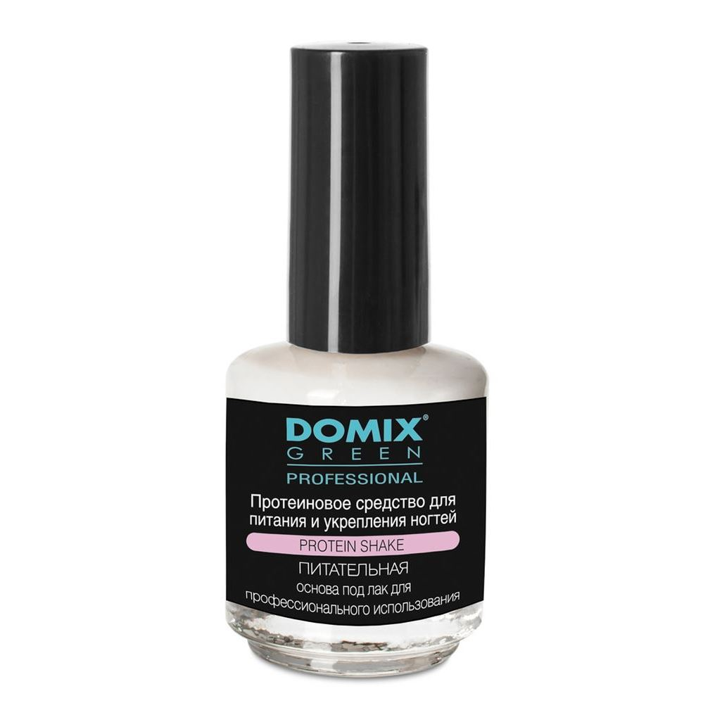 Жидкость Domix Green Professional Protein Shake  17 мл масло domix green professional avocado nail oil 17 мл