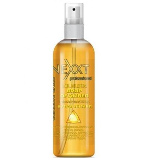 Масло Nexxt Professional Oil Elixir Drop Of Amber 100 мл kativa argan oil elixir масло защитное для волос эликсир арганы 30 мл
