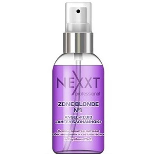 Флюид Nexxt Professional Zone Blonde №1 Angel-Fluid Anti-Yellow Effect 50 мл флюид nexxt professional hair skin color remover 125 мл