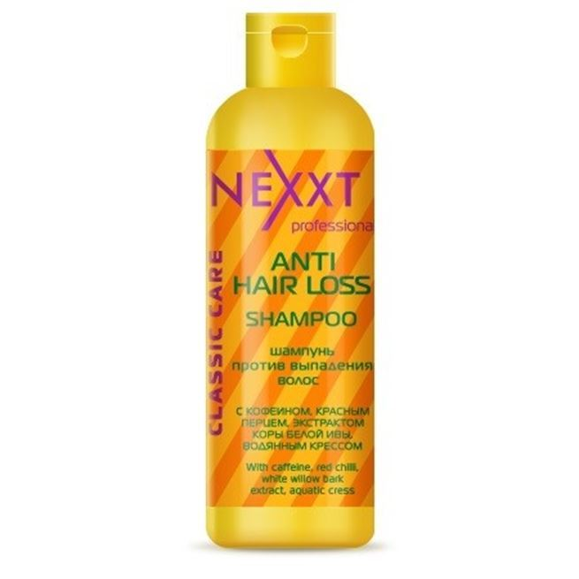 Шампунь Nexxt Professional Anti Hair Loss Shampoo 250 мл флюид nexxt professional hair skin color remover 125 мл