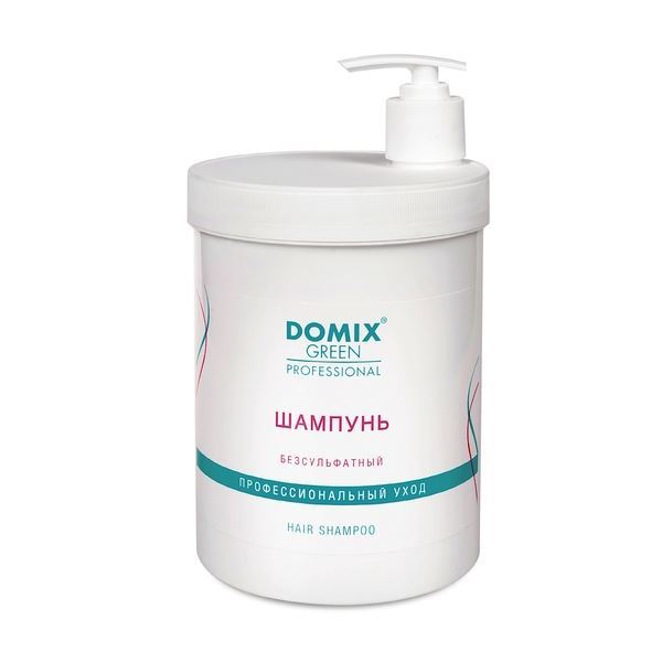 Шампунь Domix Green Professional Hair Shampoo 1000 мл масло domix green professional avocado nail oil 17 мл