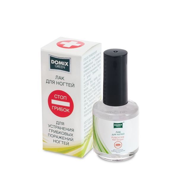 Лак Domix Green Professional Лак для устранения грибковых поражений ногтей