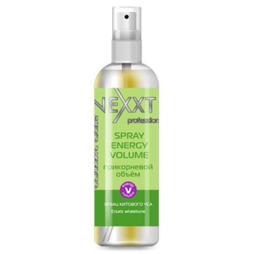 Спрей Nexxt Professional Spray Energy Volume  250 мл nexxt professional шампунь пилинг cleansing relax 250 мл