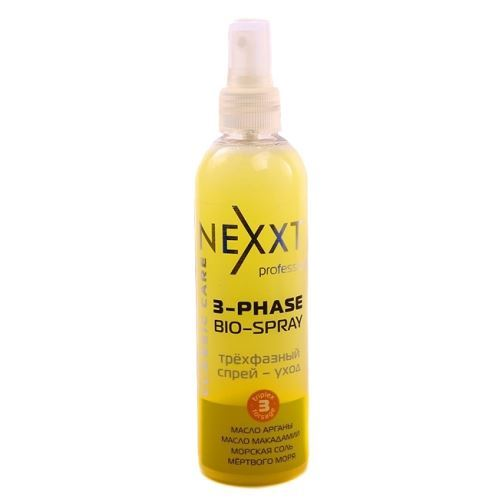 Спрей Nexxt Professional 3-Phase Bio-Spray 250 мл nexxt professional шампунь пилинг cleansing relax 250 мл