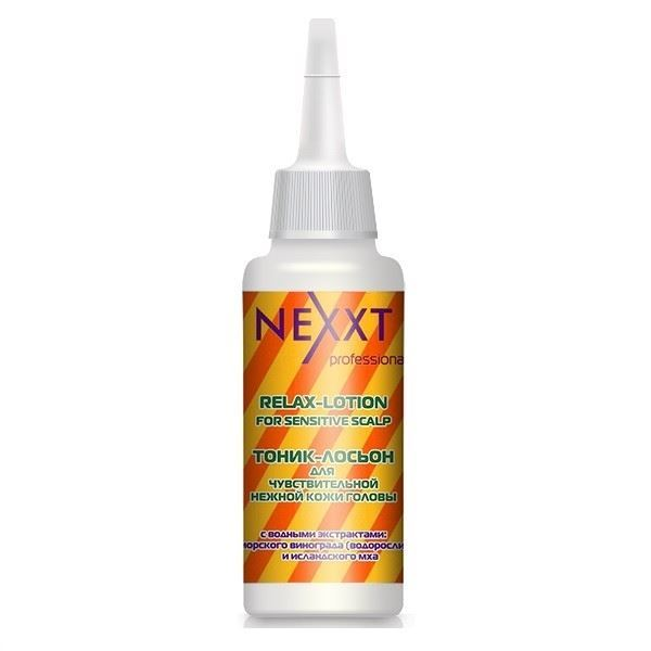 Лосьон Nexxt Professional Relax-Lotion For Sensitive Scalp  125 мл флюид nexxt professional hair skin color remover 125 мл
