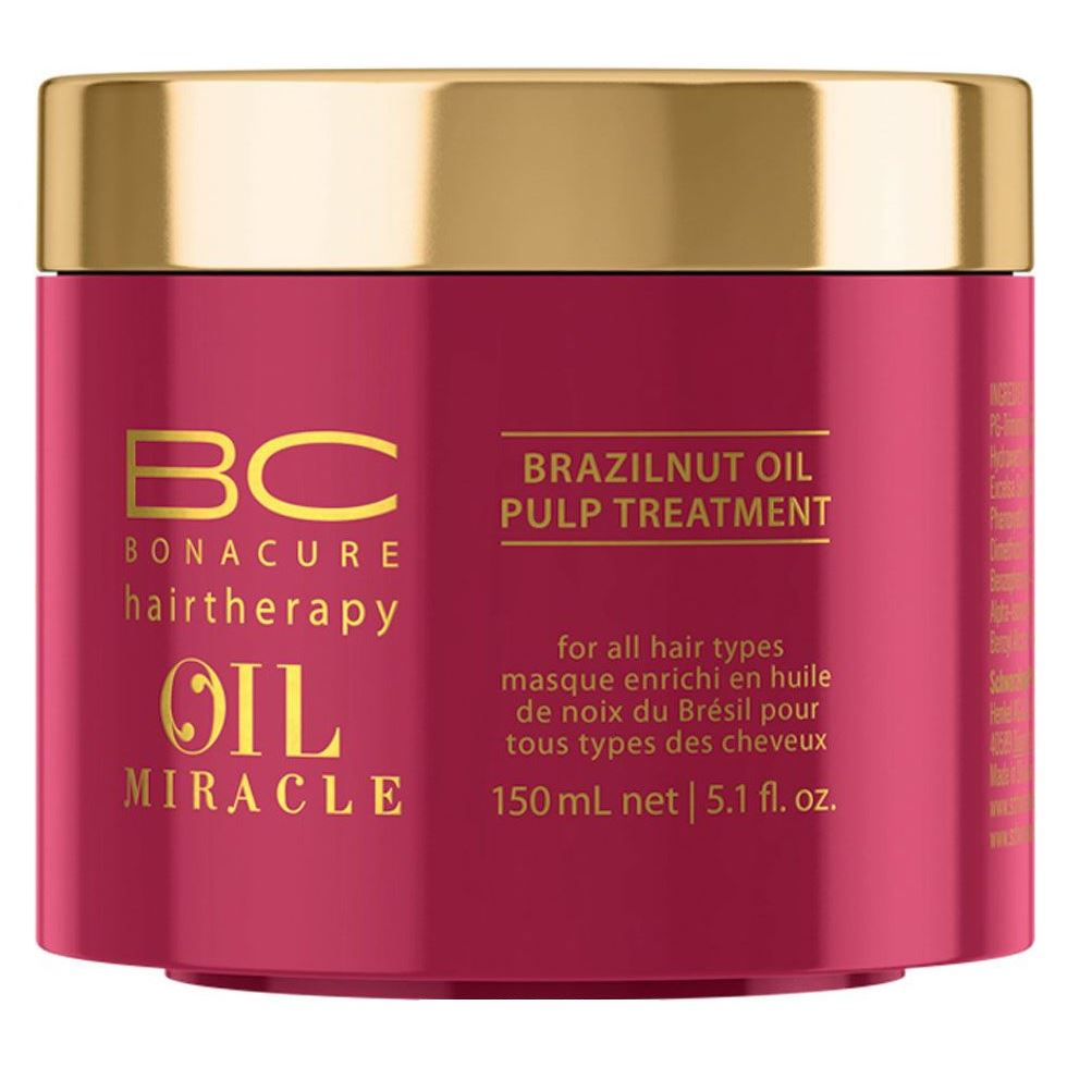цены  Маска Schwarzkopf Professional Oil Miracle. Brazilnut Oil Pulp Treatment