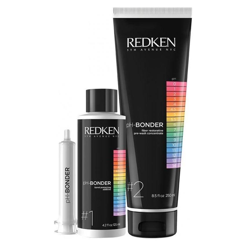 Набор Redken pH-Bonder Kit (Набор на проведение 70 услуг: 4*125 мл + 4*250 мл) набор redken ph bonder kit набор на проведение 70 услуг 4 125 мл 4 250 мл