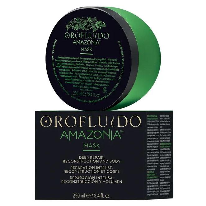 Маска Orofluido Amazonia Mask  250 мл orofluido маска восстанавливающая для ослабленных и поврежденных волос orofluido amazonia 250 мл