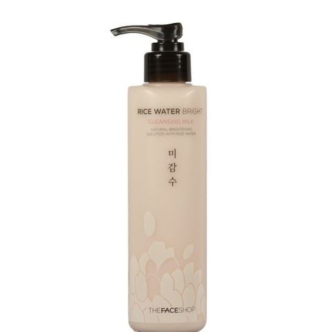 Молочко The Face Shop Rice Water Bright Cleansing Milk пенка the face shop rice water bright rice bran cleansing foam